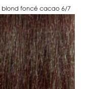 6/7 blond foncé cacao