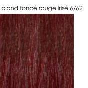 6/62 blond foncé rouge irisé