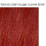 8/64 blond clair rouge cuivré
