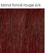 6/6 blond foncé rouge