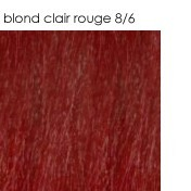 8/6 blond clair rouge