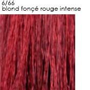 6/66 blond foncé rouge intense