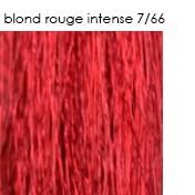 7/66 blond rouge intense