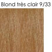 9/33 blond trés clair doré intense