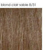 8/31 blond clair sable